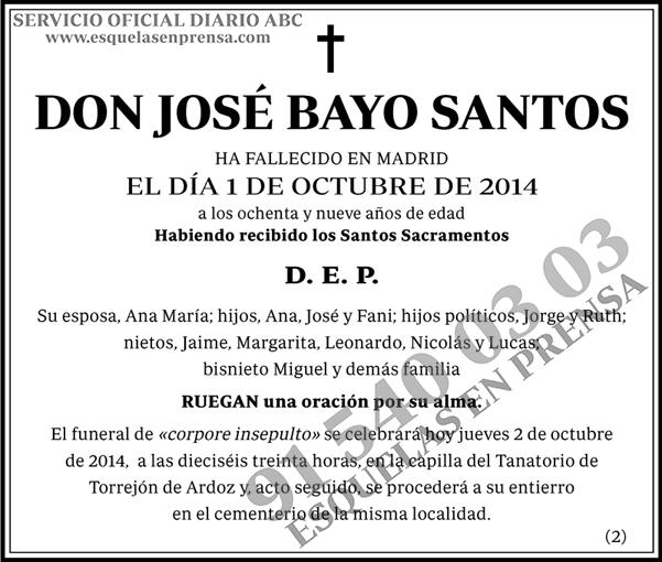 José Bayo Santos